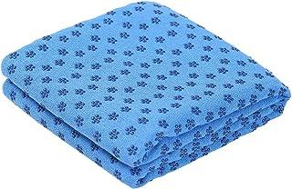 Romacci Yoga Mat Towel Non-Slip Sweat Absorbent Yoga Mat Soft Hot Yoga Towel