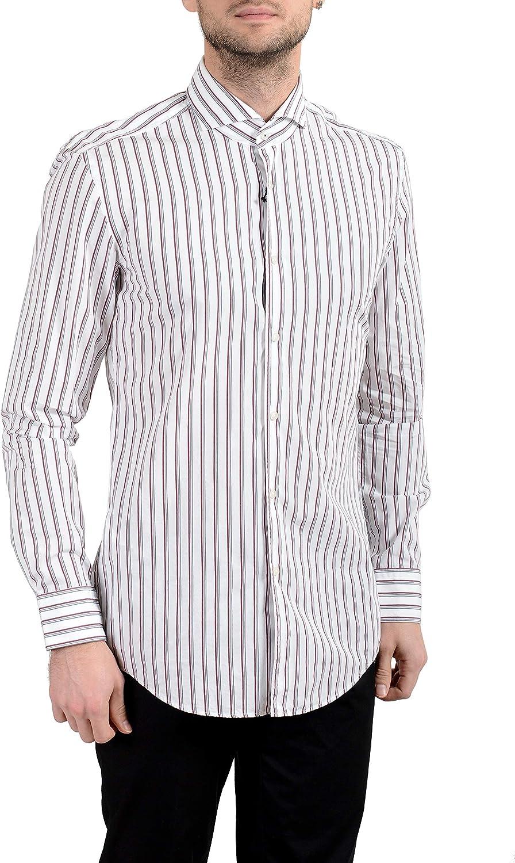 Hugo Boss Jemerson Men's Slim Long Sleeve Dress Shirt US 15.75 IT 40