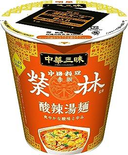 明星 中華三昧 タテ型ビッグ 赤坂榮林 酸辣湯麺 99g ×12個