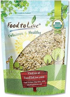 Organic Canadian Hemp Seeds, 8 Ounces - Raw Hearts, Hulled, Non-GMO, Kosher, Vegan, Bulk
