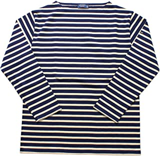 [セントジェームス] 長袖Tシャツ ウエッソン ギルド 2501 メンズ レディース 03.マリーン×エクリュ 1 [並行輸入品]