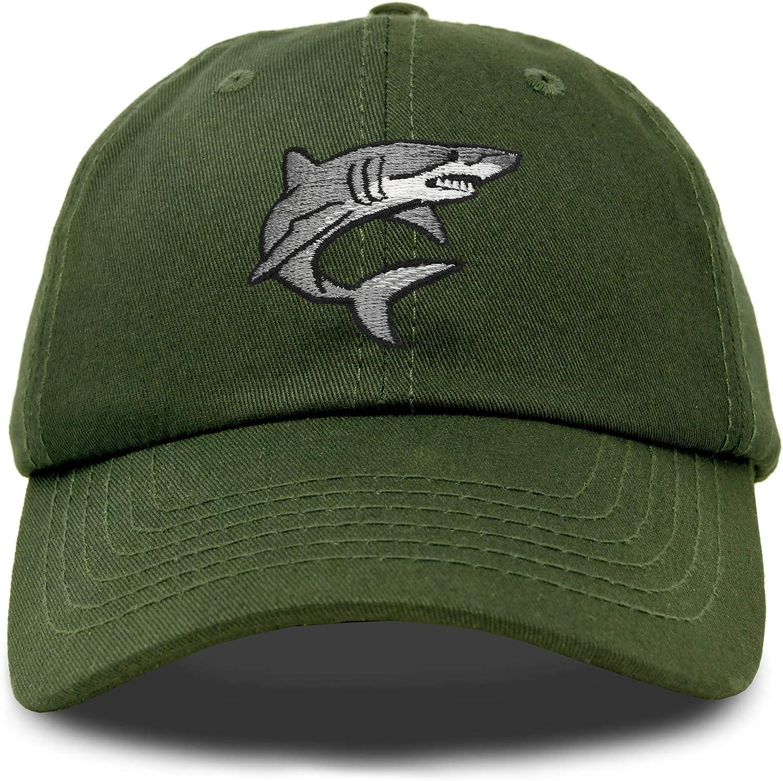 DALIX Shark Tucson Mall Hat Embroidered Great White Baseball service Cap