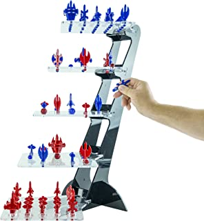 RLT Industries Yavoch! Three-Dimensional Futuristic Chess Game, Blue & Red
