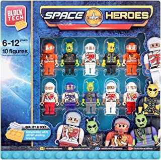 "BLOCK TECH /""Action Heroes/"" 20 figures free shipping Lego compatible"