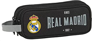safta Estuche Triple Cremallera de Real Madrid 1902, 210 x 70 x 85 mm