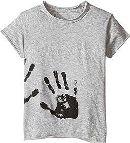 Hand Print Raw T-Shirt (Infant/Toddler/Little Kids)