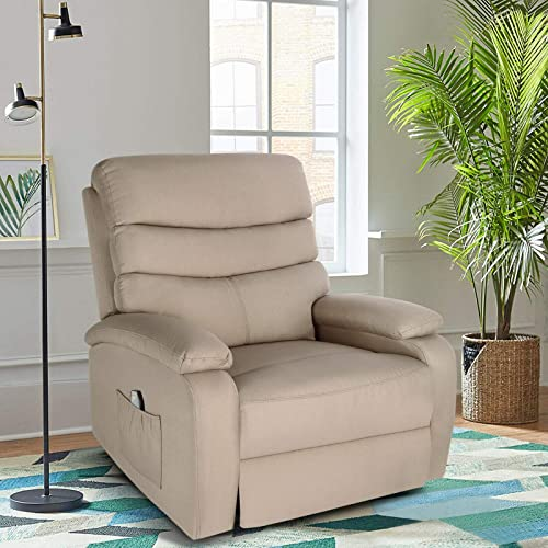 high quality Artist Hand 8 Point Massage Recliner new arrival Lounge Chair, Zero Gravity Ergonomic Living Room Snuggling Sofa, Swivel Gliding Recliner with Lumbar Heated Remote Control Fit for new arrival Office Nap Theater Feeding Baby outlet sale