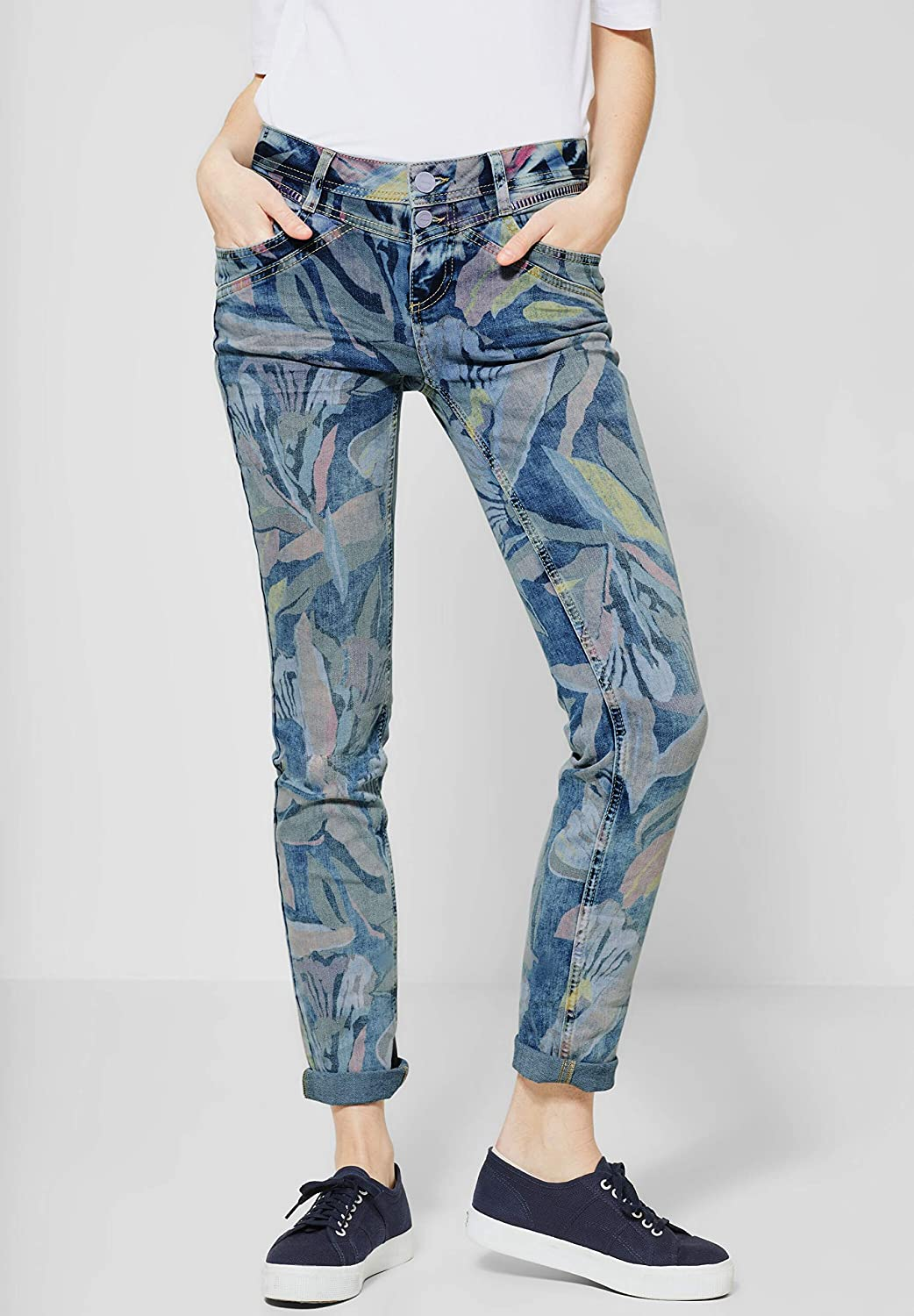 Street One Jane Casual Fit Jeans para Mujer