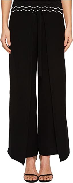 YIGAL AZROUËL - Tie Front Wrap Pants