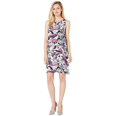 NIC+ZOE Graffiti Femme Dress (Multi) Women