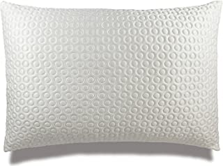 Xtreme Comforts Luxury Plush Gel Infused Fiber Filled Pillow for Sleeping. Adjustable Loft for All Sleepers. Proprietary Cool-X Cooling Cover Helps Cool Menopause hot Flashes (Queen) Made in The USA