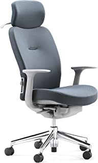 Keizer High Back Ergonomic Chair with Adjustable Seat Height - Molded Foam Headrest and Seat - Tilt Control Functions - Gr...