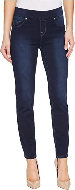 "Pull-On Ankle 28"" Dream Jeans in Navy Blast"