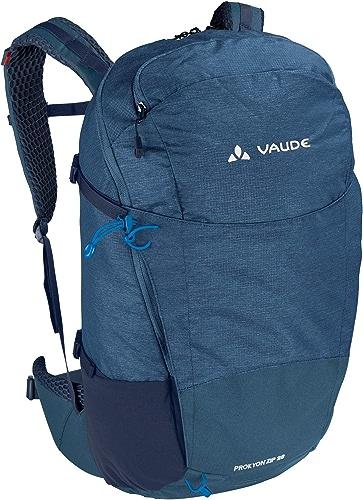 VAUDE Prokyon Zip 28 Sac à Dos spacieux pour la randonnée et Les activités de Plein-air Mixte