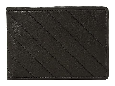 Bosca Napoli Quilted Small Bifold Wallet Black New Lower Prices y1iWgJ2y2g