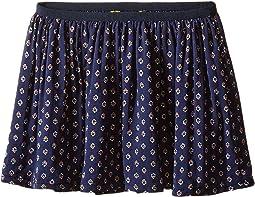 Cotton Blend Flounce Skirt (Toddler)