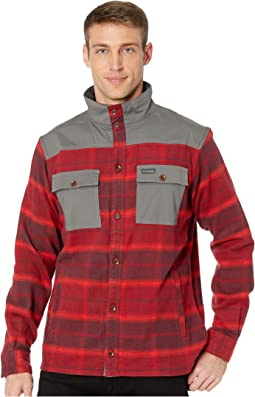 Red Element Large Plaid