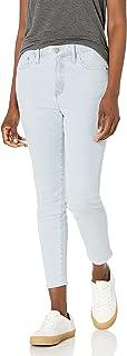 "J.Crew Mercantile Women's 9\"" High-Rise Fine Stripe Skinny Jean, Piper, 28"