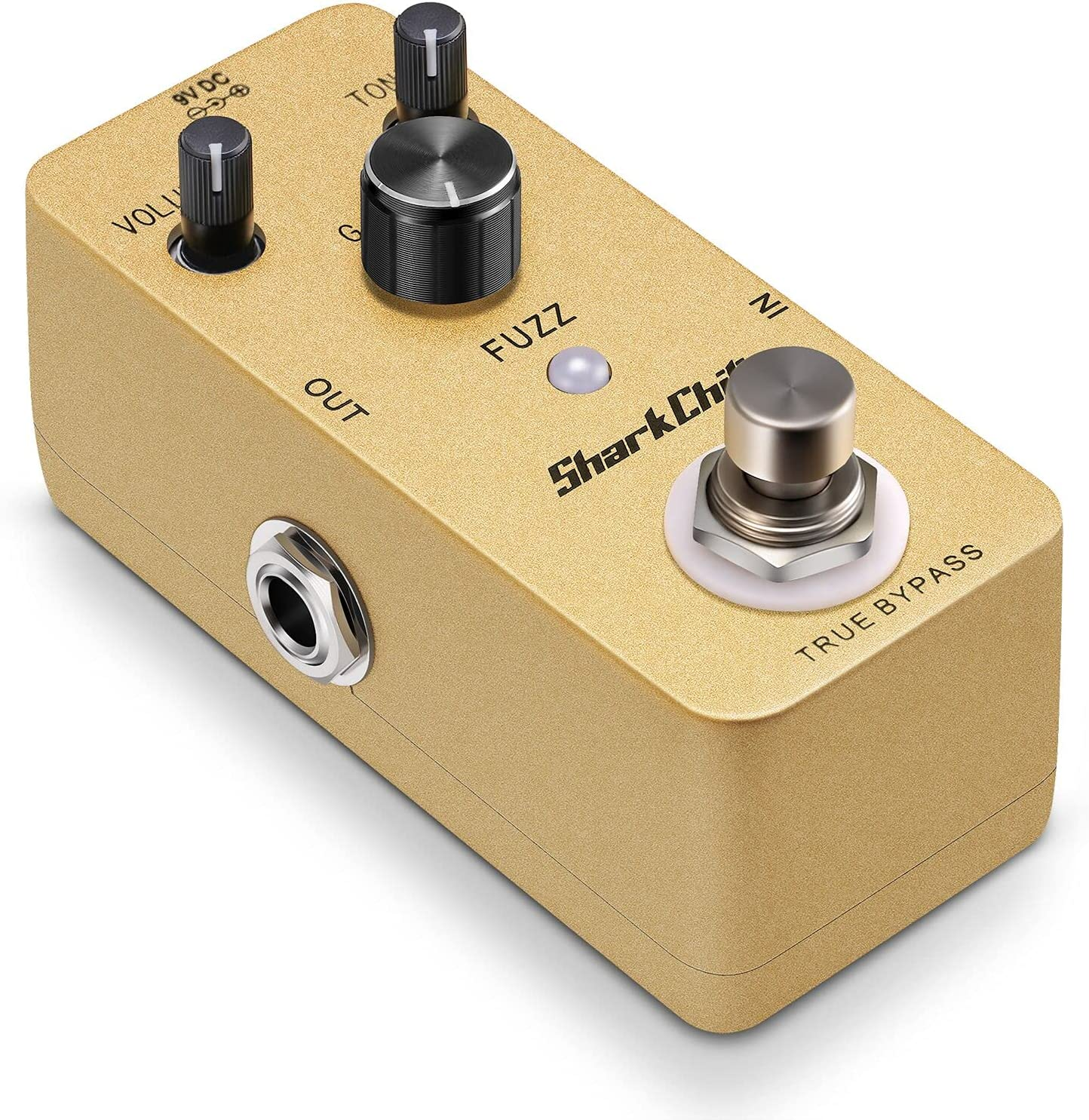 SharkChili Fuzz Single Effect True Bypass For Electric Guitar Overdrive (without power supply)