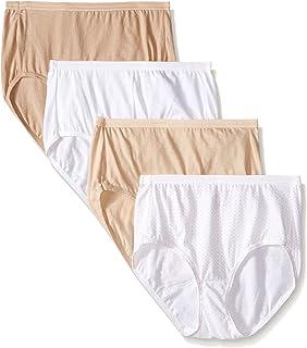 Hanes Ultimate Women's 4-Pack Brief Panties