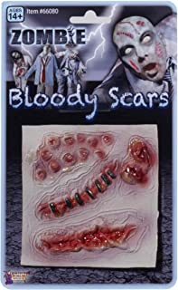 Forum Novelties Men's Zombie Bloody Scars Costume Accessory