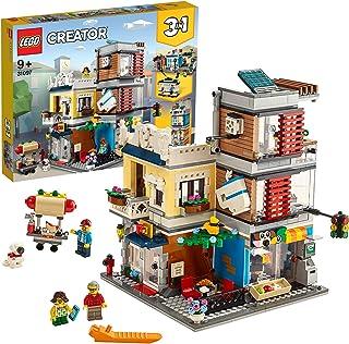 LEGO 31097 Creator 3-i-1 Djuraffär och Café Set med 3 Minifigurer att Bygga, Flerfärgad