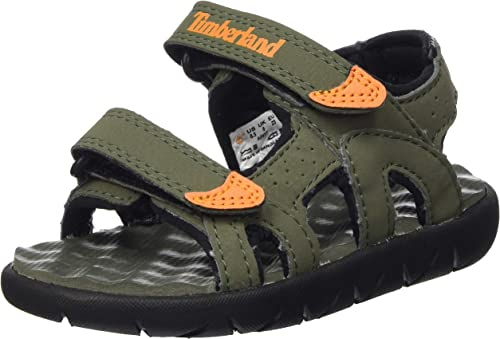 Timberland Perkins Row 2-Strap (Toddler), Sandales Bout Ouvert Mixte Enfant