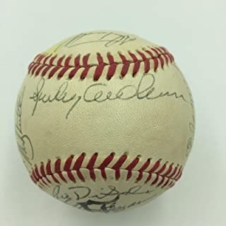 1990 Detroit Tigers Team Signed Baseball With Sparky Anderson & Alan Trammell - Autographed Baseballs