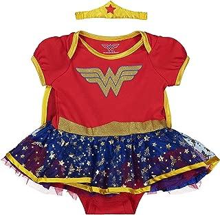 AIKSSOO 4Pcs Infant Baby Christmas Outfit Set Onesie+Tutu+Leg Warmer+Headband
