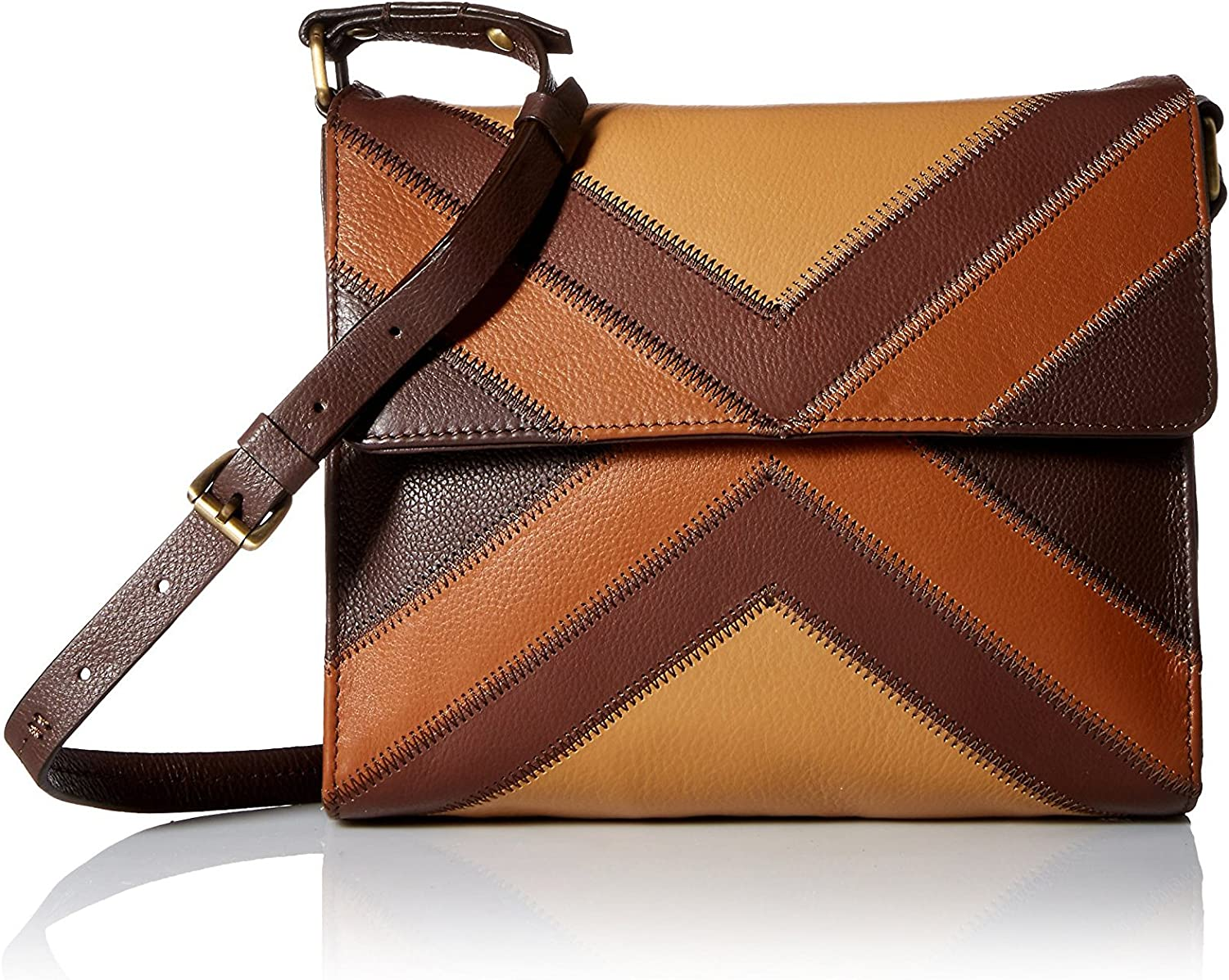 Isabella Fiore Women's Gipsy CrossBody, Brown