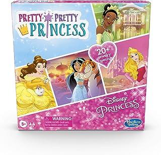 Hasbro Gaming Pretty Pretty Princess: Disney Princess Edition Board Game Featuring Disney Princesses, Jewelry Dress-Up Gam...