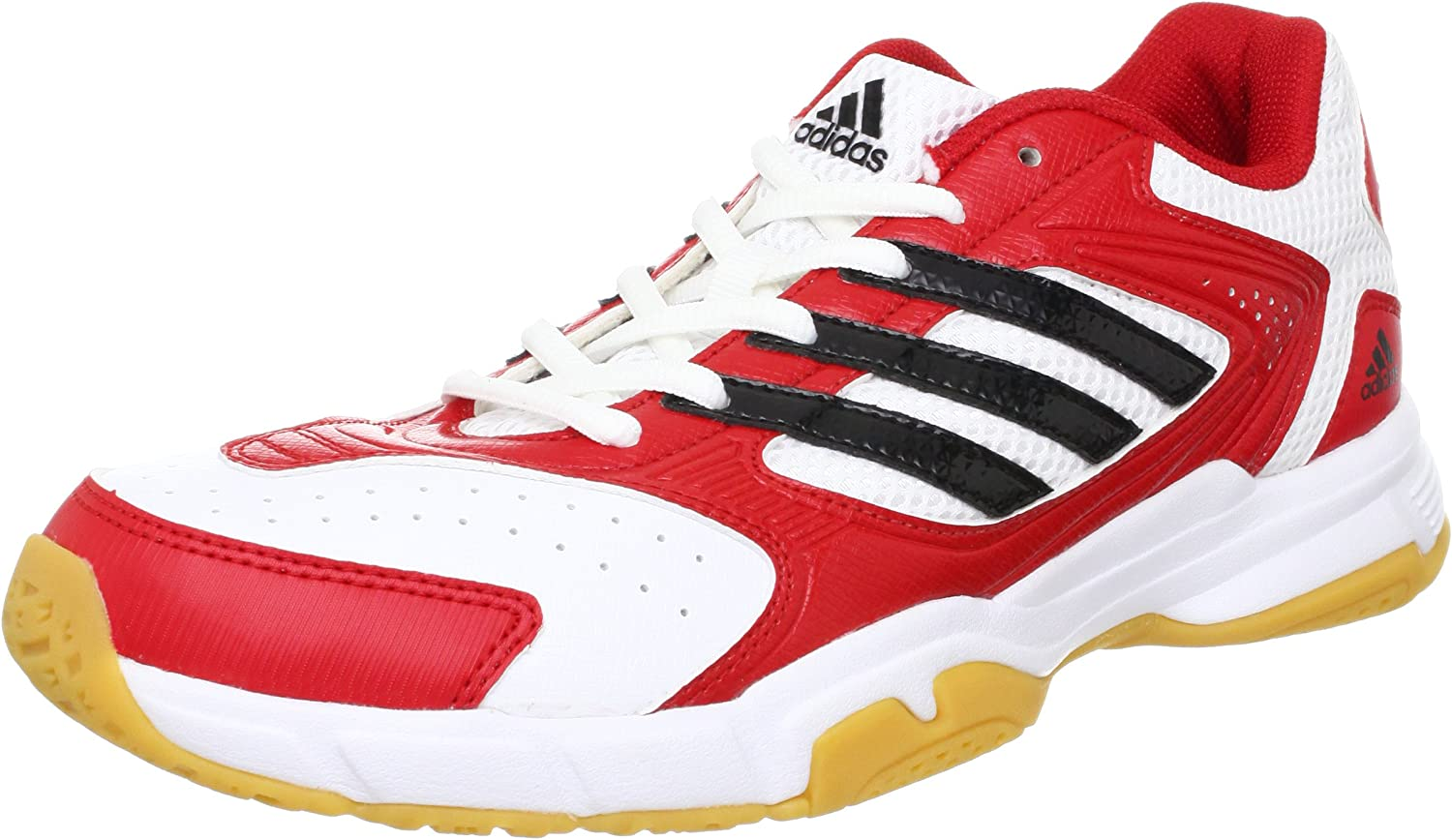 Adidas Performance Herren Badmintonschuhe Feather Replique Halle Weiss rot (908) 46EU