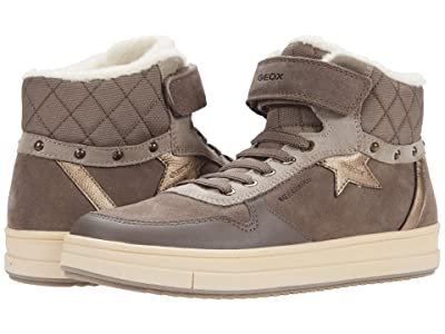 Geox Kids Rebecca WPF 2 (Big Kid) (Smoke Grey) Girl