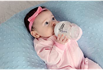THE TWIN Z PILLOW - BLUE - 6 uses in 1 Twin Pillow ! Breastfeeding, Bottlefeeding, Tummy Time, Reflux, Support and Pr...
