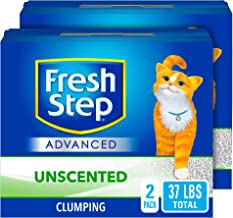 Fresh Step Advanced Clumping Cat Litter with Activated Charcoal & Natural Odor..