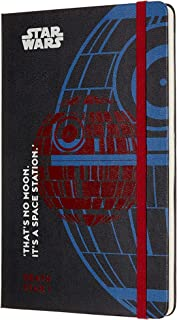 Moleskine Limited Edition Star Wars 18 Month 2019-2020 Weekly Planner, Hard Cover, Large (5