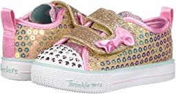 Skechers kids twinkle toes shuffles patch party 10868n