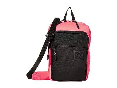 Herschel Supply Co. Form Crossbody Large (Neon Pink/Black) Cross Body Handbags