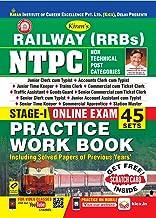 Kiran's Railway Rrb Ntpc Stage-I Online Exam Practice Work Book