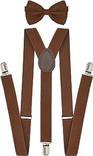 سیستم تعلیق Trilece برای آقایان قابل تنظیم 1 اینچ W سبک Y برگشت کلیپ های قوی رنگ های جامد