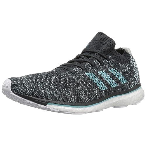 adidas Adizero Mens Prime Parley Carbon/Blue Running Shoes (DB1252)