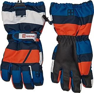 LEGO Wear Kids Fleece-Lined Softshell Water Resistant Touchscreen Winter Gloves
