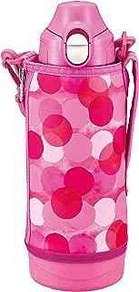 TIGER虎牌 保温瓶 (TIGER) 冷感 运动水杯 粉色 TIGER虎牌 水壶 800ml 直饮 带水杯 两用 MBO-H080PT 粉色 800ml MBO-H080PT