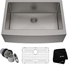 Best stainless steel farmhouse sink 30 inch Reviews