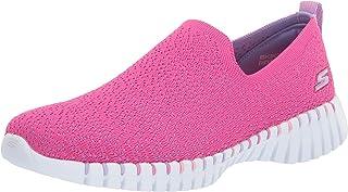 Skechers Kids Girls' GO Walk Smart Sneaker, Turquoise
