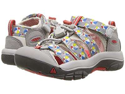 Keen Kids Newport H2 (Toddler/Little Kid) (Paloma Beach Balls) Boys Shoes