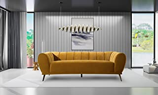 Amazon.com: Gold - Sofas & Couches / Living Room Furniture ...