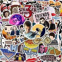 50 Pack Stranger Things Stickers Laptop Water Bottle Decal Waterproof Vinyl Stickers for Teens, Girls, Women Skateboard Mo...