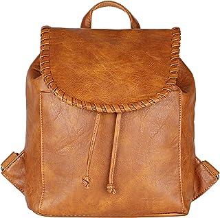 Lino Perros Brown Faux Leather Handbag