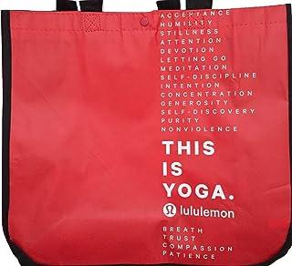 LULULEMON NEW SHOPPING Red Beach Swimming Towel GYM TOTE BAG YOGA DANCE TENNIS GOLF GYM BEACH SKATE - Large Bag - Limited ...